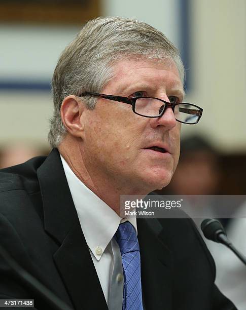 John Mayo of Georgetown University's McDonough School of Business speaks during a House Transportation and Infrastructure Committee hearing on...