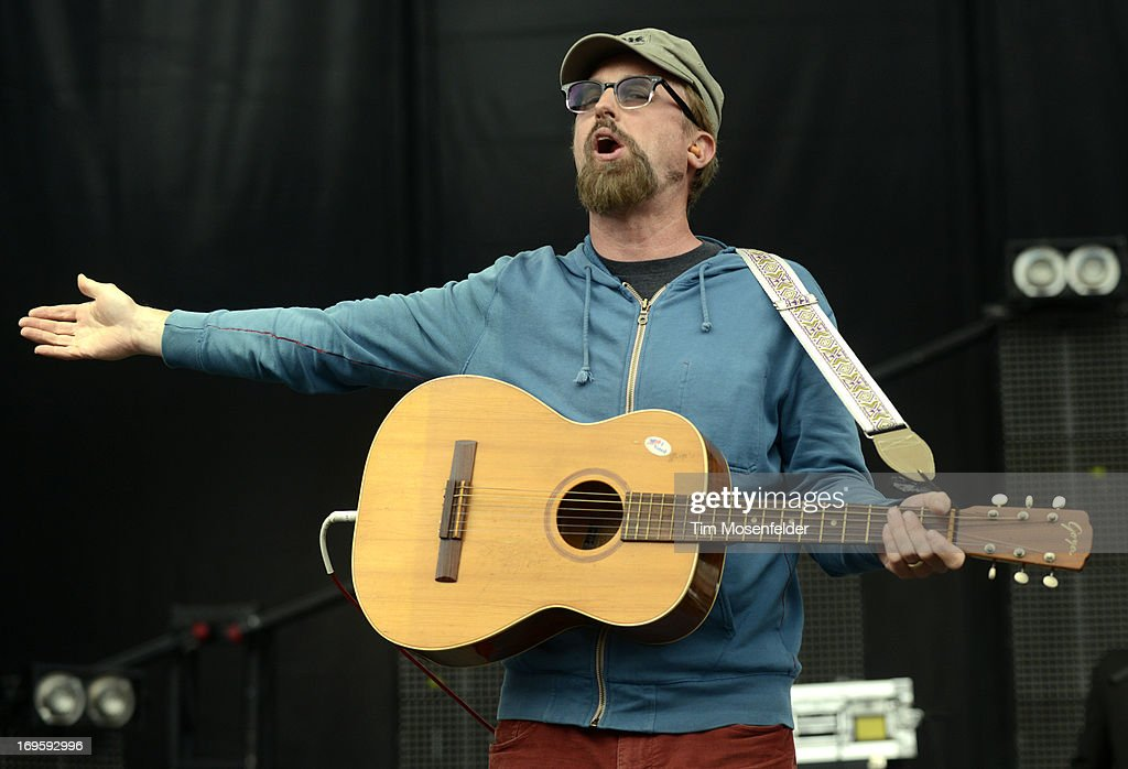 John McCrea of Cake performs as part of Day 4 of the Sasquatch! Music Festival at the Gorge Amphitheatre on May 27, 2013 in George, Washington.