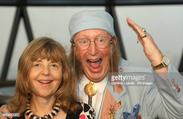 John McCririck and his wife Jenny McCririck at the Richard BalfourLynn's AHG AND MWB Group and Variety Club Children's Charity Party held at the top...