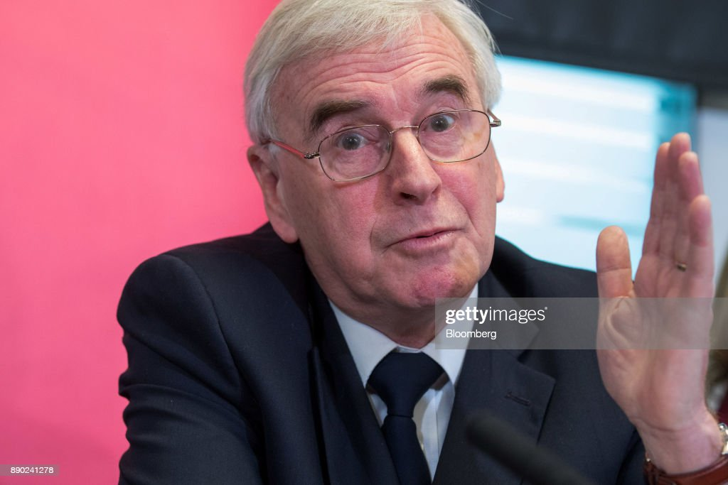 Labour's Finance Spokesman John McDonnell Debates Moving Bank Of England Operations To Birmingham