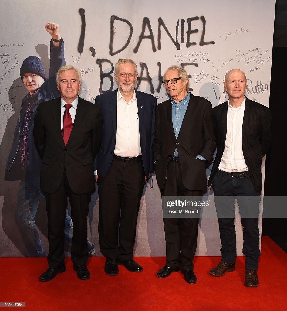 """I, Daniel Blake"" - 'The People's Premiere' - VIP Arrivals"