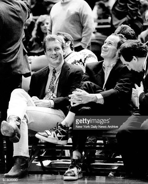 John McEnroe and friends watch Knicks plays against Heat