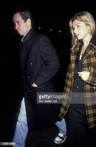 John McEnroe and Tatum O'Neal during 'Malcolm X' New York Premiere November 16 1992 at Ziegfeld Theater in New York City New York United States