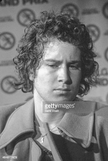 John McEnroe at a press conference on July 7 1979 in New York New York
