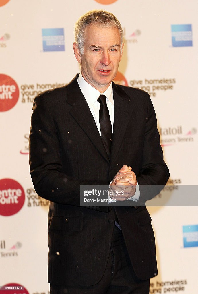 John McEnroe attends the Winter Whites Gala at Royal Albert Hall on December 8, 2012 in London, England.
