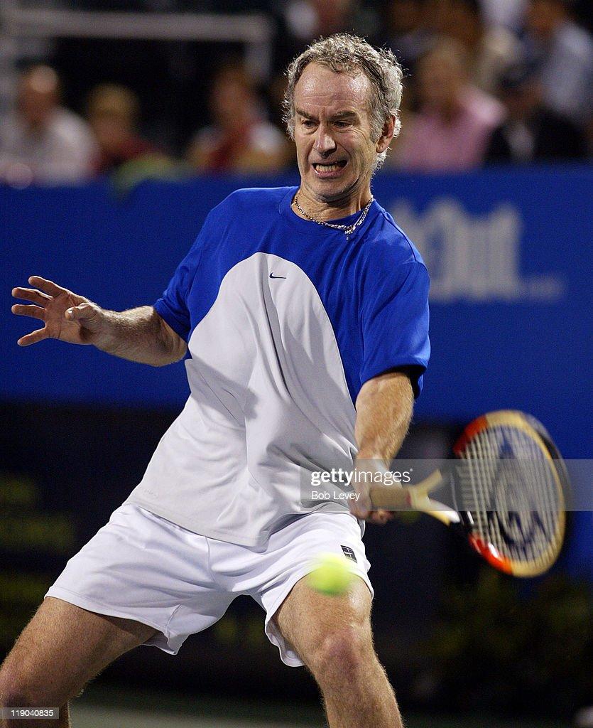 2005 Stanford Financial Champions Cup John McEnroe vs Thomas