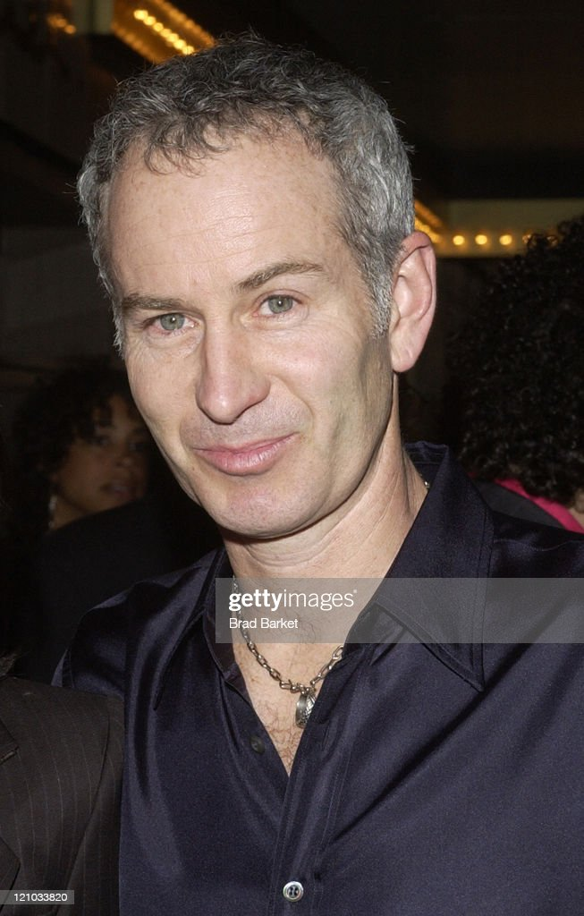 <a gi-track='captionPersonalityLinkClicked' href=/galleries/search?phrase=John+McEnroe&family=editorial&specificpeople=159411 ng-click='$event.stopPropagation()'>John McEnroe</a> during Opening Night of 'Caroline or Change' at Eugene O'Neill Theater in New York City, New York, United States.