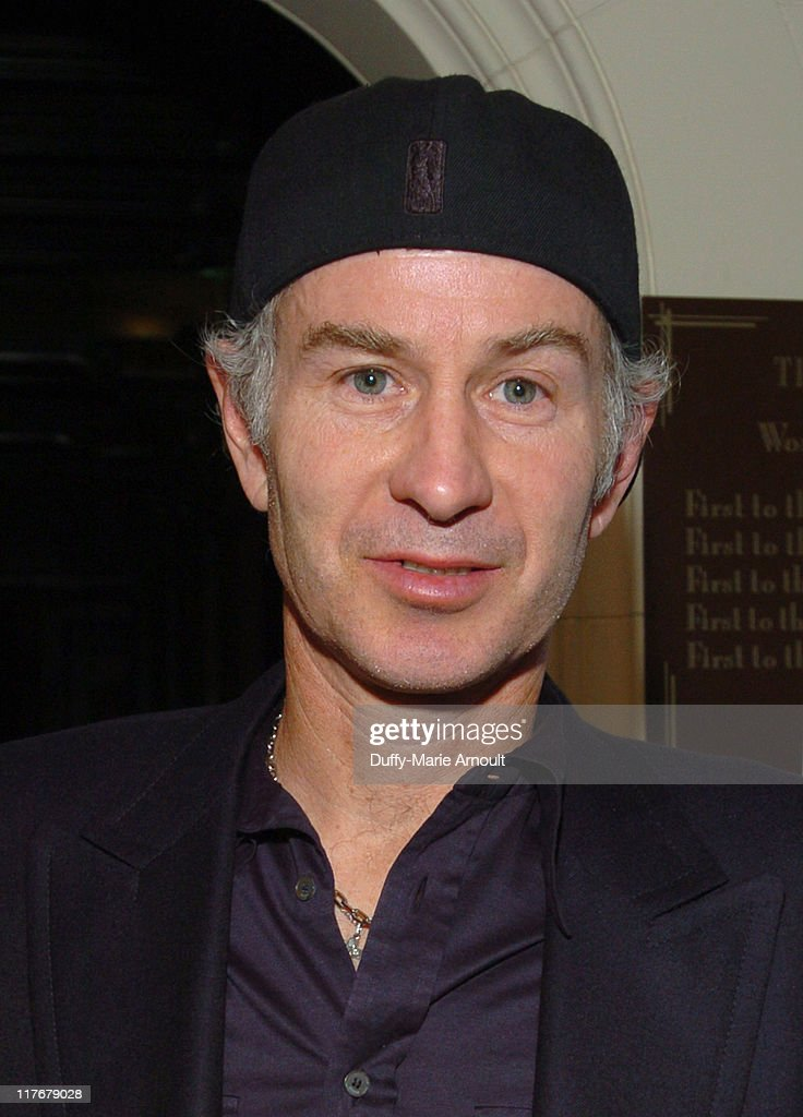 <a gi-track='captionPersonalityLinkClicked' href=/galleries/search?phrase=John+McEnroe&family=editorial&specificpeople=159411 ng-click='$event.stopPropagation()'>John McEnroe</a> during Project 'Thin Ice' Explorers Launch the Exploration of the Arctic With Greenpeace to Raise Awareness About Global Warming at Explorer's Club in New York City, New York, United States.