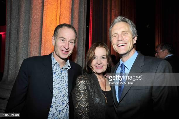 John McEnroe Judy McGrath and John Sykes attend VANITY FAIR TRIBECA FILM FESTIVAL Opening Night Dinner Hosted by ROBERT DE NIRO GRAYDON CARTER and...