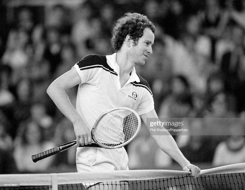 John McEnroe During The Benson And Hedges Championships