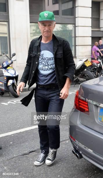 John McEnroe sighting at BBC Radio 2 on June 30 2017 in London England
