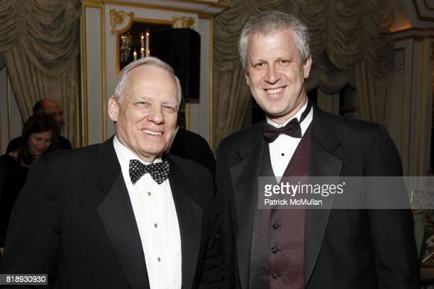 John McGuire and David Schwartz attend MUSEUM Of The MOVING IMAGE Dinner In Honor Of KATIE COURIC And PHIL KENT at St Regis Hotel on May 5 2010 in...