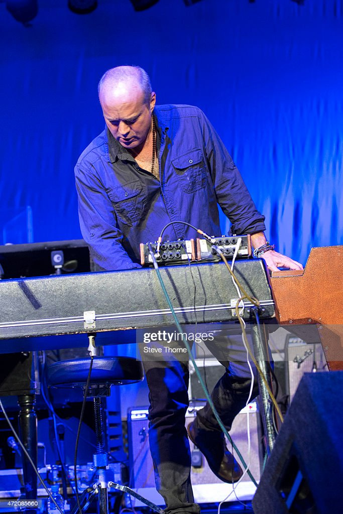 John Medeski of Medeski Martin Wood performs at the Cheltenham Jazz Festival on May 3 2015 in Cheltenham United Kingdom