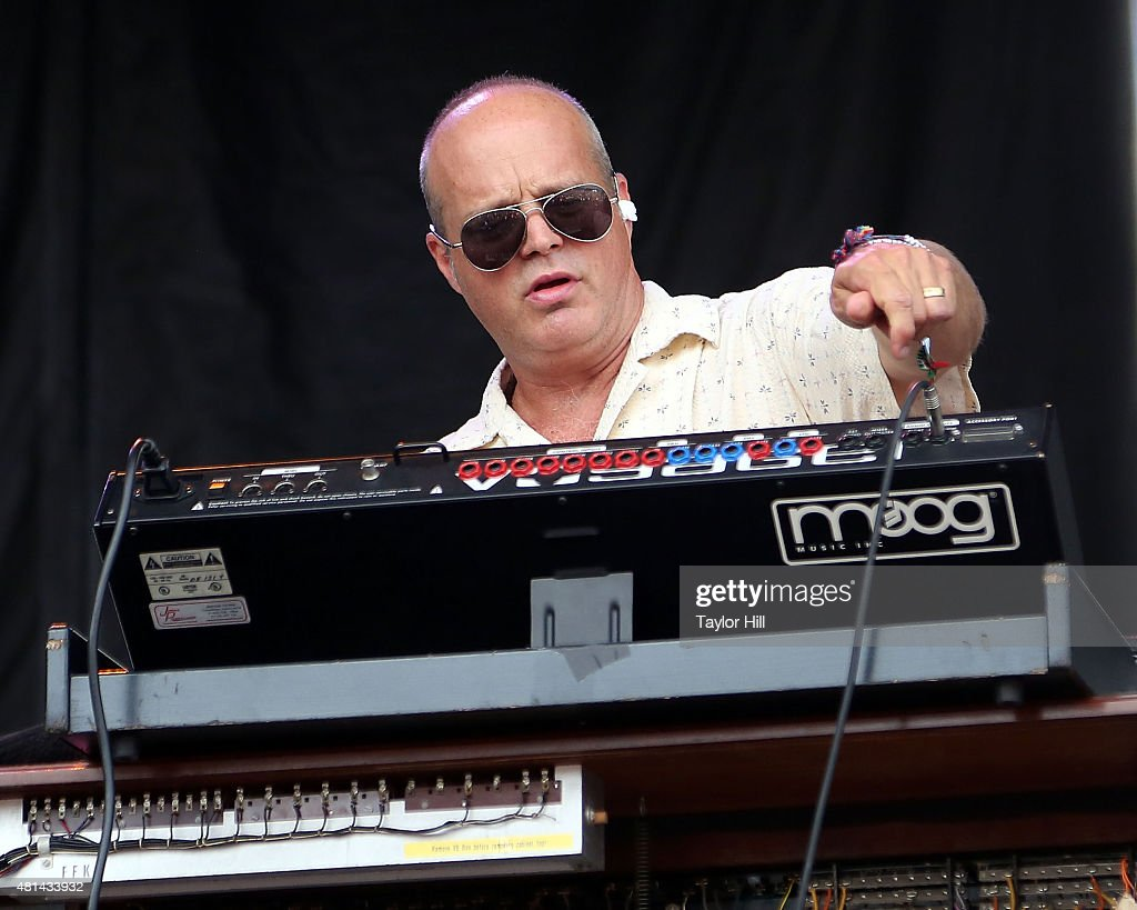 John Medeski of The Word performs during the 2015 Forecastle Festival at Waterfront Park on July 18 2015 in Louisville Kentucky