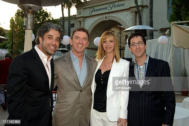 John Melfi executive producer Michael Patrick King creator and executive producer Lisa Kudrow and Dan Bucatinsky executive producer