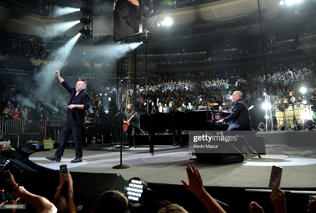 Billy Joel Performs at Madison Square Garden Photos and Images
