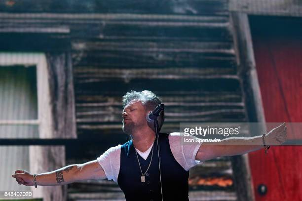 John Mellencamp performs during a concert at Farm Aid 2017 on September 16 2017 at Keybank Pavilion in Hanover Township PA