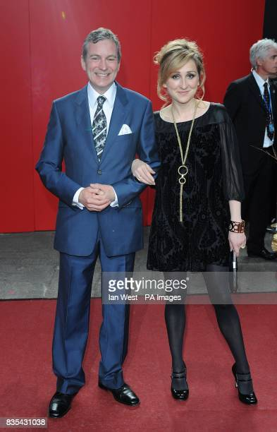 John Middleton and Charlotte Bellamy arriving for the 2009 British Soap Awards at the BBC Television Centre Wood Lane London