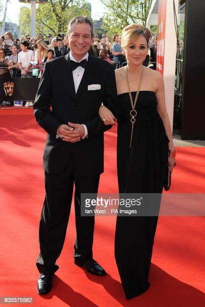 John Middleton and Charlotte Bellamy arriving for the British Academy Television Awards at the Royal Festival Hall in central London