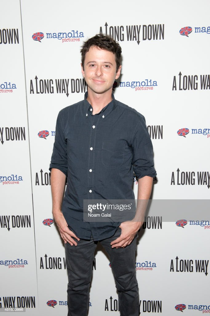 John Milhiser attends the 'A Long Way Down' New York Premiere at City Cinemas 123 on June 30, 2014 in New York City.