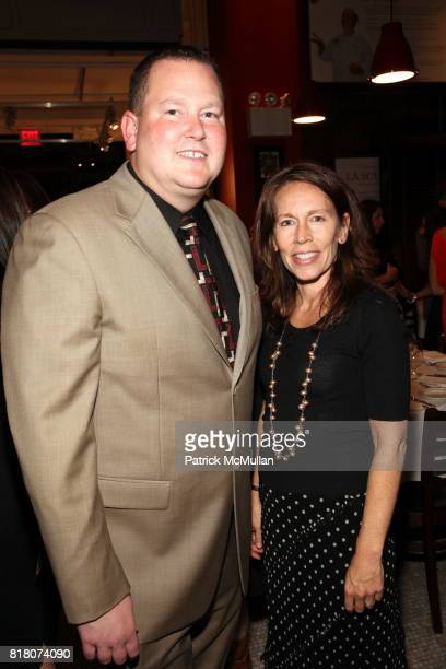 John Miller and Lisa Jacobsberg attend Epicurious 15th Anniversary Dinner at Eataly on September 29 2010 in New York