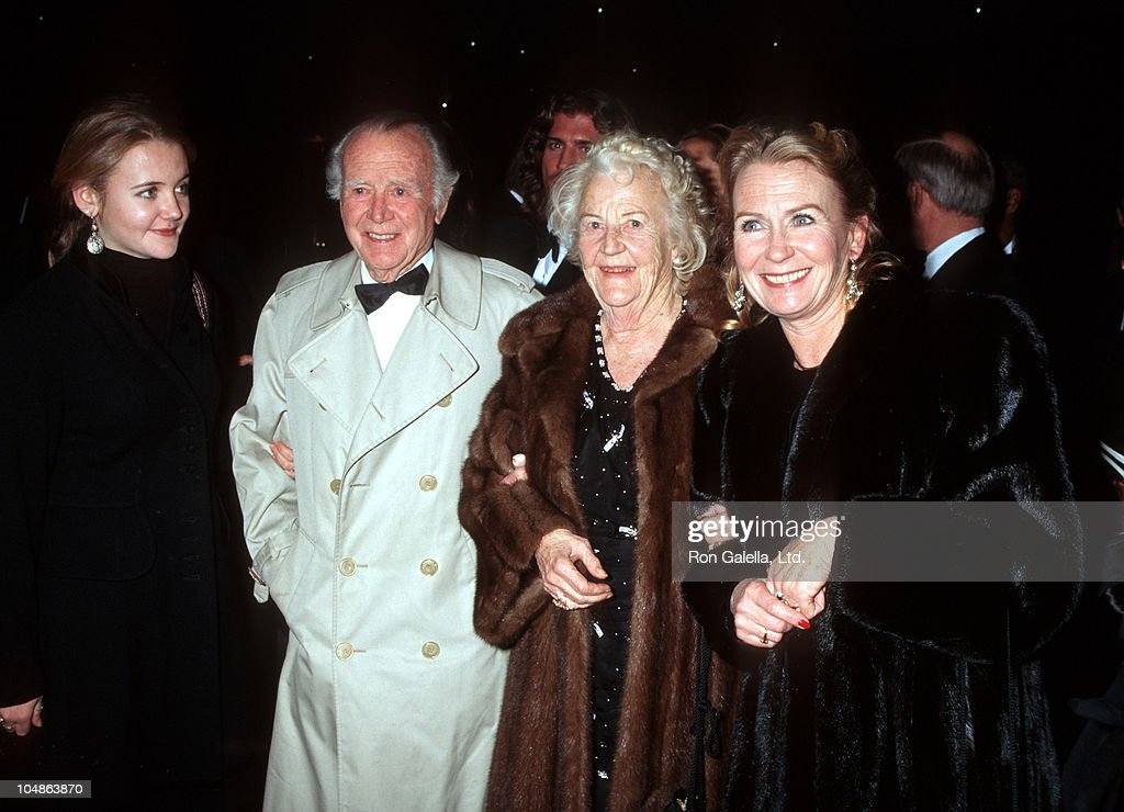 John Mills and family during 'Night of 200 Stars' 2nd International Achievement in Arts Awards at New York Hilton Hotel in New York City, NY, United States.