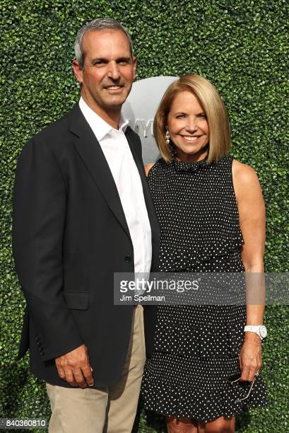 John Molner and journalist Katie Couric attends the 17th Annual USTA Foundation Opening Night Gala at USTA Billie Jean King National Tennis Center on...