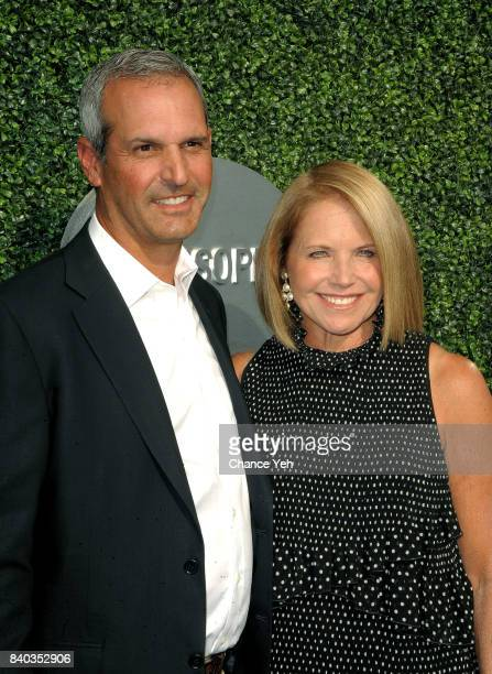 John Molner and Katie Couric attend 17th Annual USTA Foundation opening night gala at USTA Billie Jean King National Tennis Center on August 28 2017...