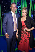 John Molner and Katie Couric attend The Robin Hood Foundation's 2016 Benefit at Jacob Javitz Center on May 9 2016 in New York City