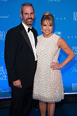 John Molner and tv personality Katie Couric attend the 11th Annual UNICEF Snowflake Ball at Cipriani Wall Street on December 1 2015 in New York City
