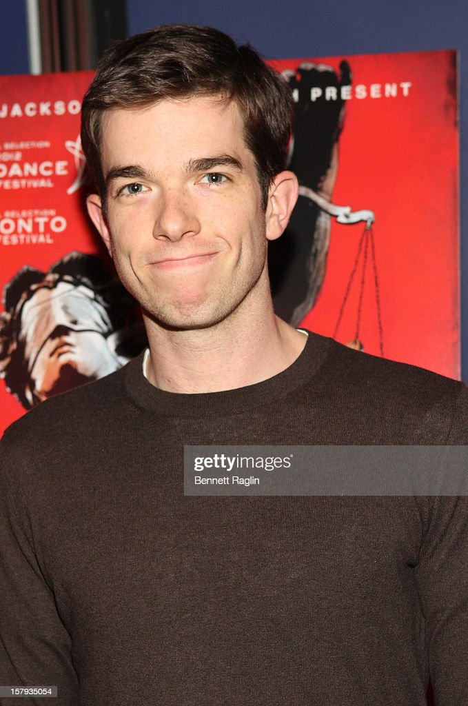 John Mulaney attends the 'West Of Memphis' premiere at Florence Gould Hall on December 7, 2012 in New York City.