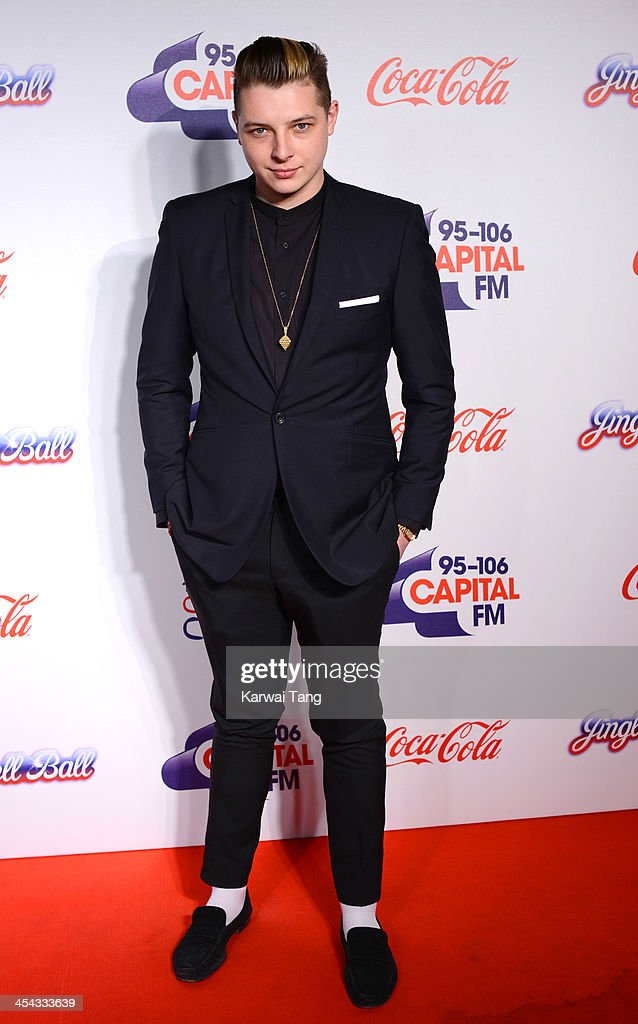 John Newman attends on day 2 of the Capital FM Jingle Bell Ball at the 02 Arena on December 8, 2013 in London, England.