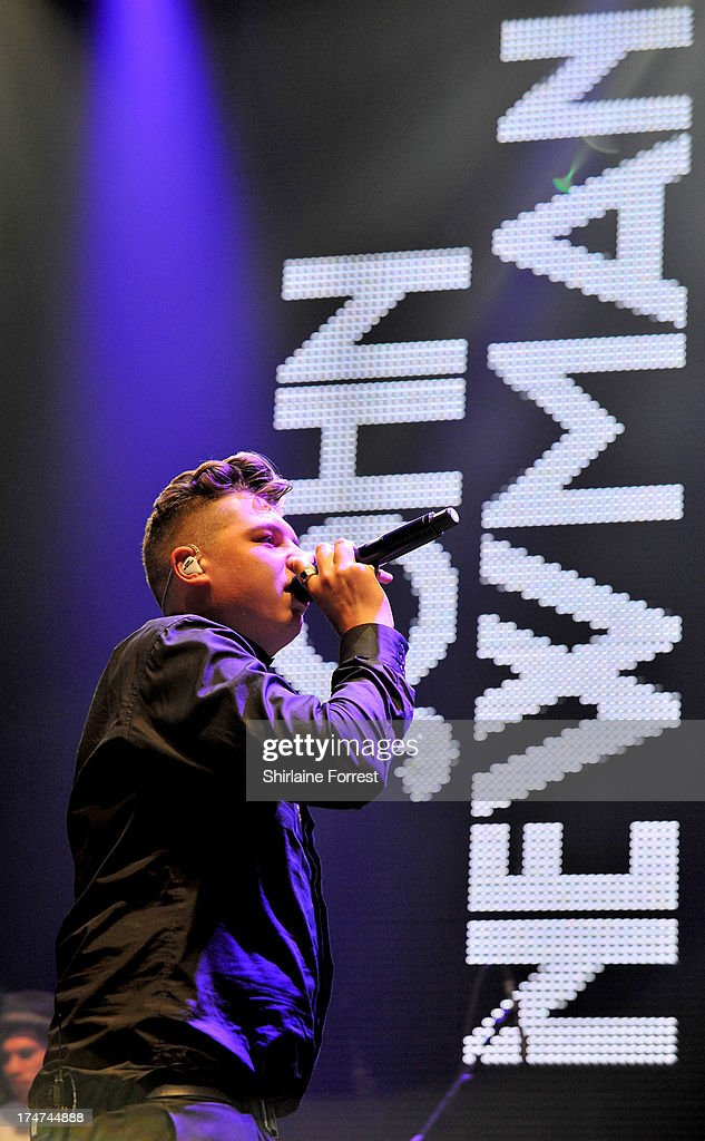 John Newman performs at Key 103 Live at Manchester Arena on July 28, 2013 in Manchester, England.
