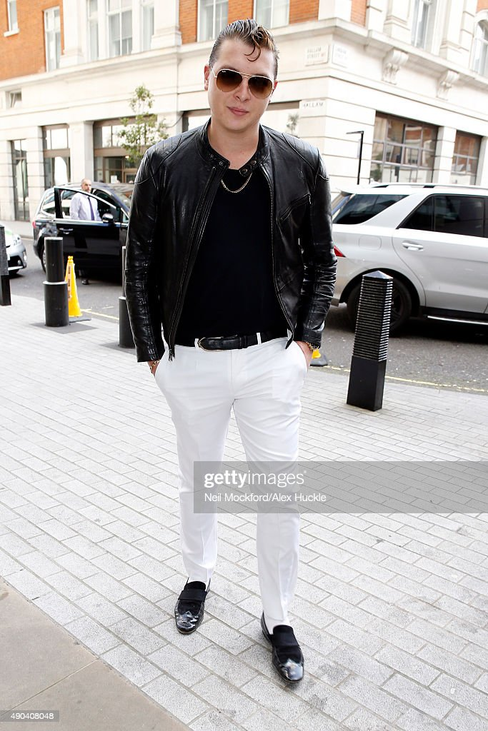 London Celebrity Sightings -  September 28, 2015