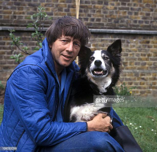 John Noakes 'blue Peter' Presenter With The 'blue Peter Dog Shep