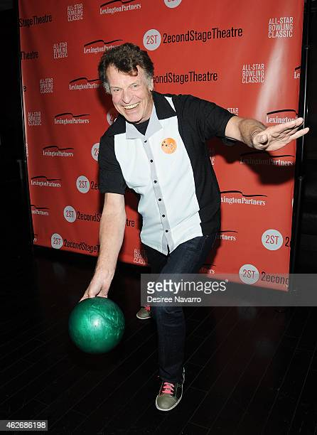John Noble attends the 28th Annual Second Stage Theatre AllStar Bowling Classic at Lucky Strike Lanes Lounge on February 2 2015 in New York City