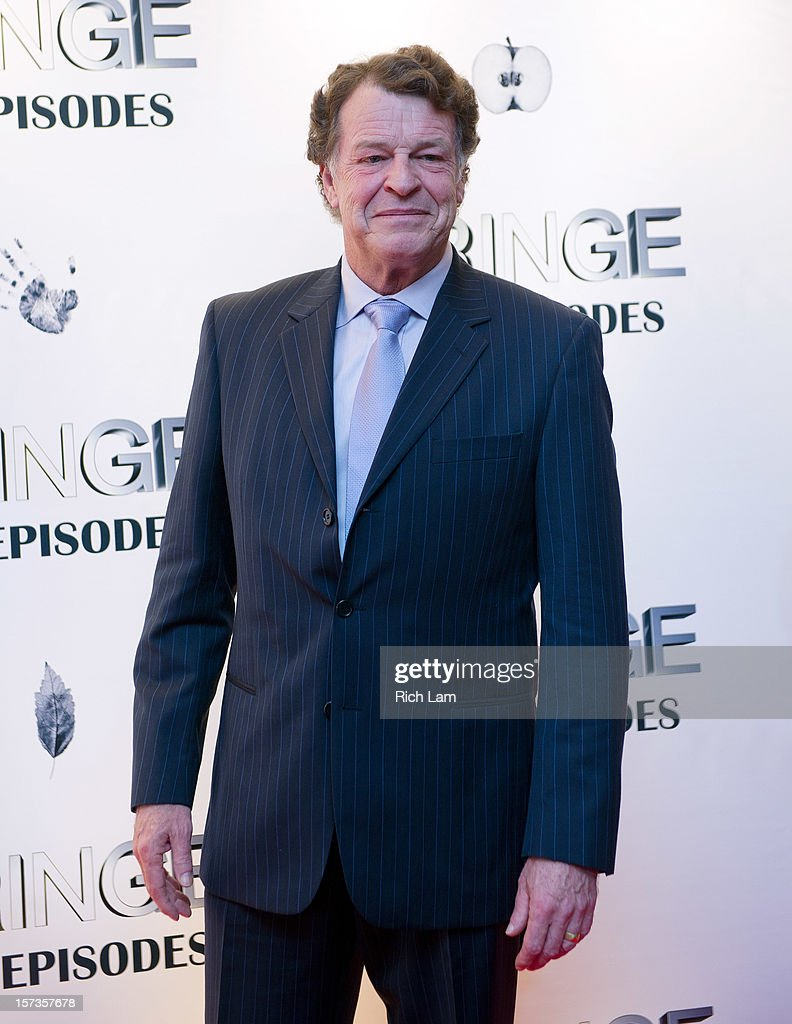 <a gi-track='captionPersonalityLinkClicked' href=/galleries/search?phrase=John+Noble&family=editorial&specificpeople=1866932 ng-click='$event.stopPropagation()'>John Noble</a> poses for a photo on the red carpet while attending 'Fringe' celebrates 100 episodes and final season at Fairmont Pacific Rim on December 1, 2012 in Vancouver, Canada.
