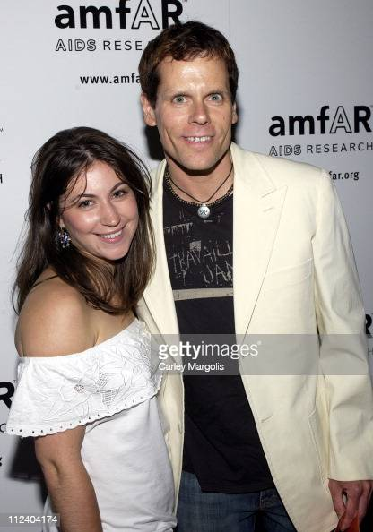 John Norris and guest during 14th Annual amfAR Rocks Benefit at Tavern on the Green in New York City New York United States