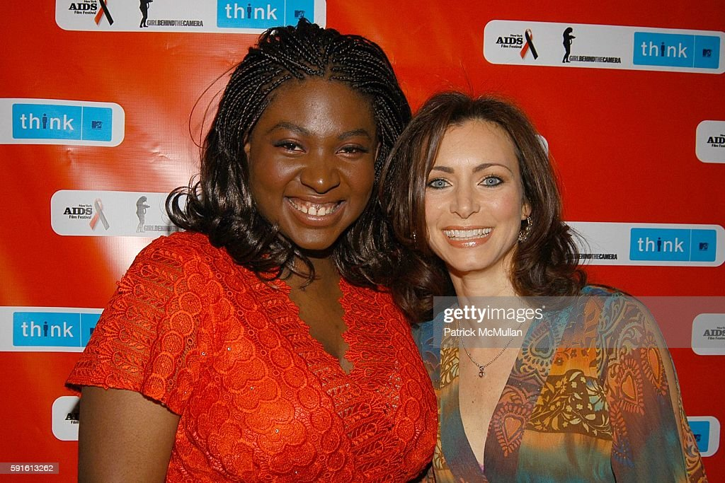 John Norris and Suzanne Engo attend New York AIDS Film Festival Red Ball Opening Gala at Paramount Screening Room MTV TRL Studios on December 1 2005...