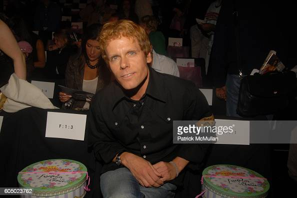 John Norris attends HEATHERETTE Spring 2007 Fashion Show at The Tent at Bryant Park on September 12 2006 in New York City