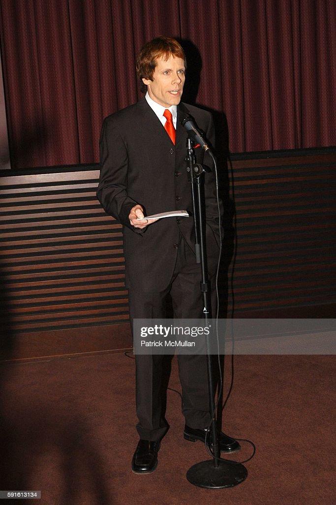 John Norris attends New York AIDS Film Festival Red Ball Opening Gala at Paramount Screening Room MTV TRL Studios on December 1 2005 in New York City