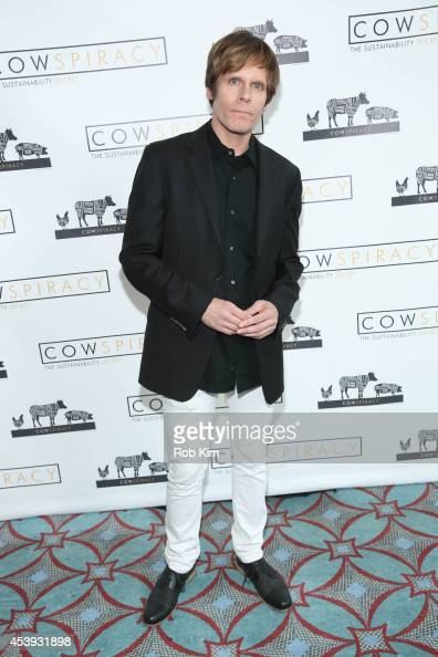 John Norris attends the 'Cowspiracy The Sustainability Secret' New York Premiere at AMC Loews Village 7 on August 21 2014 in New York City