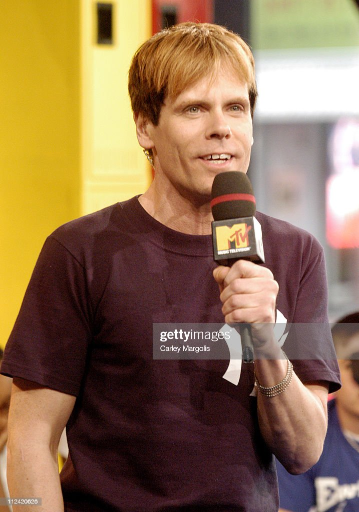 John Norris during Kellie Pickler and Mike Shinoda Visit MTV's 'TRL' May 1 2006 at MTV Studios in New York City New York United States