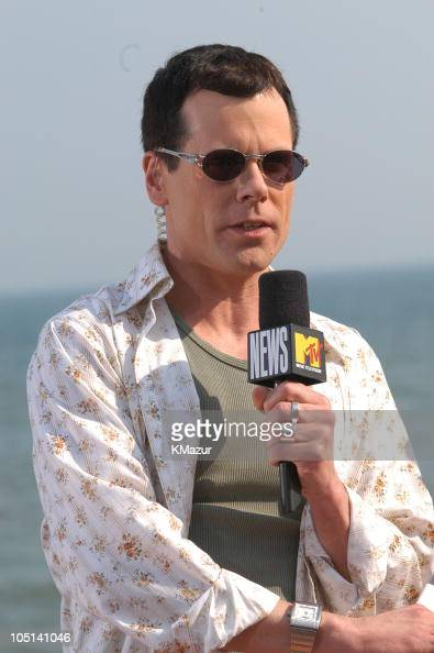 John Norris during Mark Walhberg and Michelle Branch stop by MTV's Spankin New Summer Music Week at MTV Beach House in East Quogue New York United...