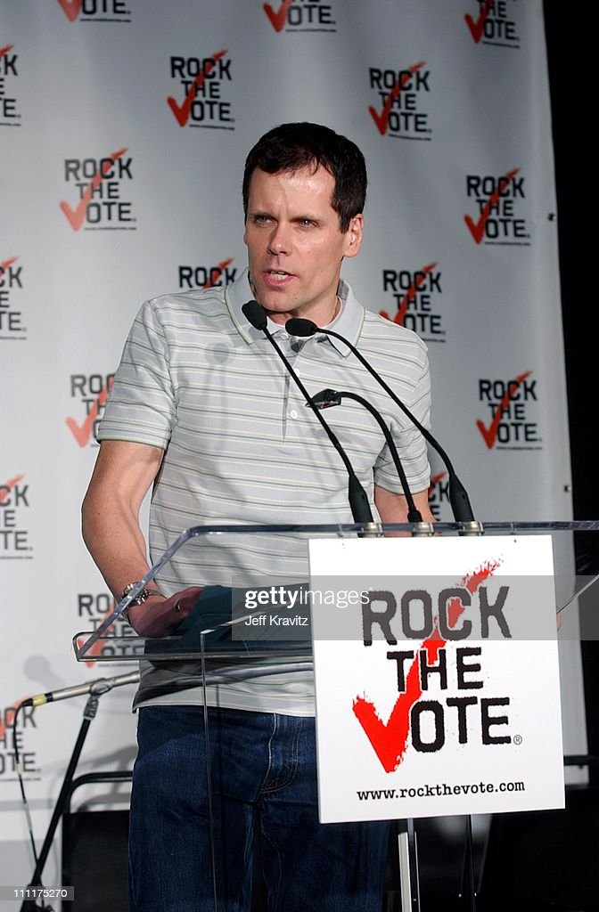 John Norris during Rock the Vote Press Conference at Palladium in Hollywood California United States
