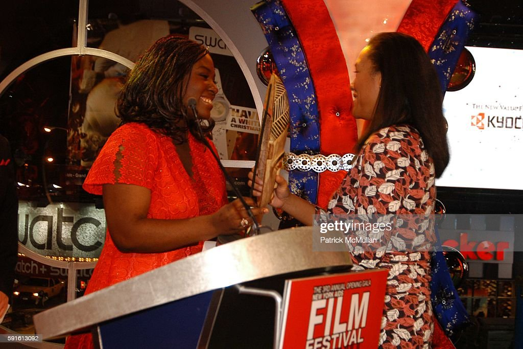 John Norris Suzanne Engo and Christina Norman attend New York AIDS Film Festival Red Ball Opening Gala at Paramount Screening Room MTV TRL Studios on...