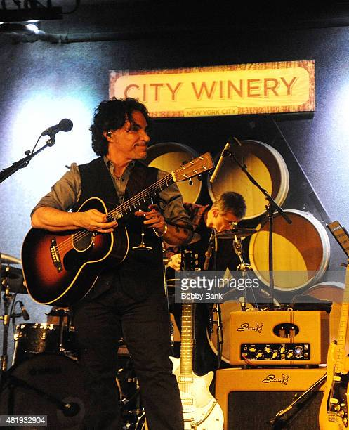 John Oates performs at City Winery for An Acoustic Evening With John Oates A Concert Celebrating his DVD Release on January 21 2015 in New York City