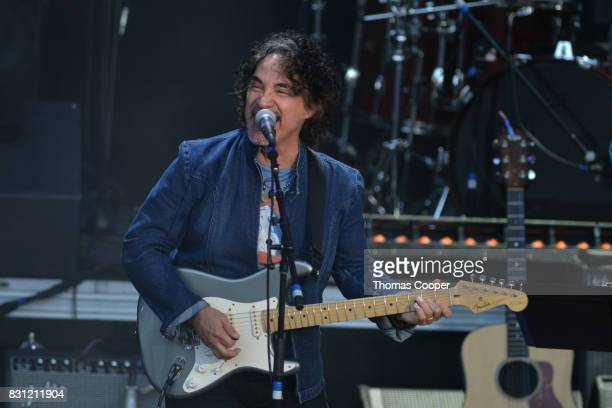John Oates performs during The Rocky Mountain Way honoring inductee's into the Colorado Music Hall of Fame event at Fiddler's Green Amphitheatre on...
