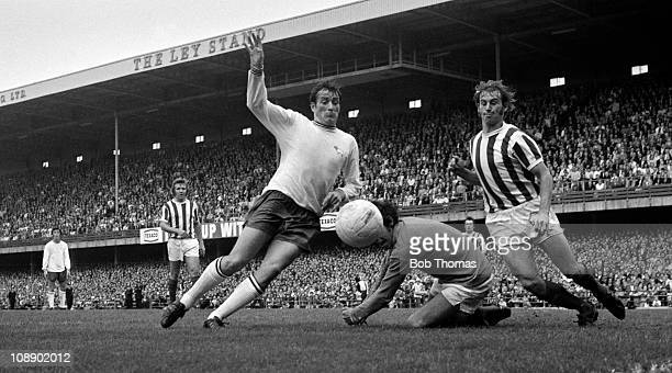 John O'Hare of Derby County in action against Stoke City during their Division One match held at the Baseball Ground Derby on 11th September 1971...