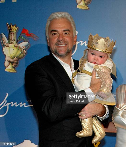 John O'Hurley and William O'Hurley during Opening Night For 'Spamalot' At The Wynn Las Vegas Arrivals at Wynn Hotel Casino in Las Vegas Nevada United...
